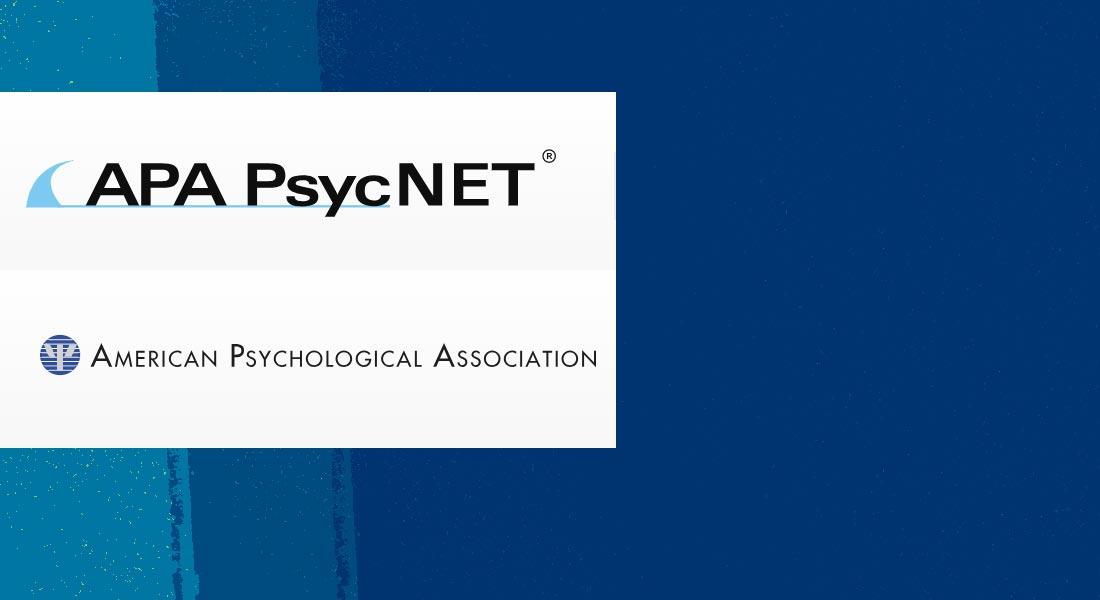 PsycNET Record Display – PsycNET